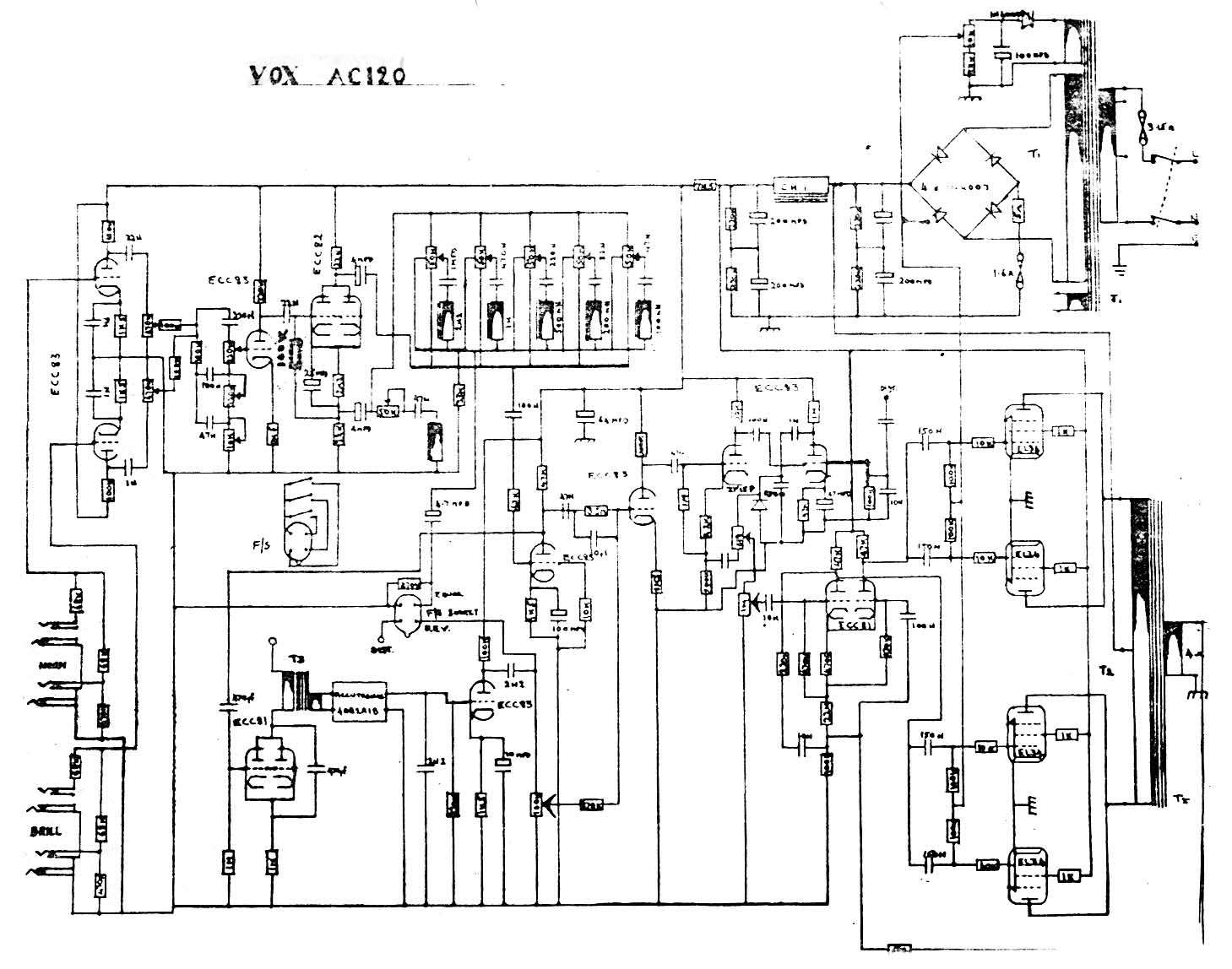 Blue Guitar Schematics on vox tube amp mods, vox tube amp schematics, fender bassman schematic, fender champion 600 schematic, fender deluxe reverb schematic, vox ac15 layout, audio amplifier schematic, ac30 schematic, vox v9158 15r, vox vt50 amp schematics, vox vt 50 amps, vox amp diagram, blues jr schematic, vox tonelab le power cable diagram, small ice machine schematic, pcb schematic,